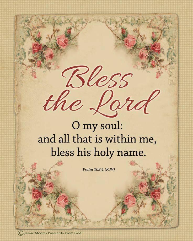 PSALM 103:1