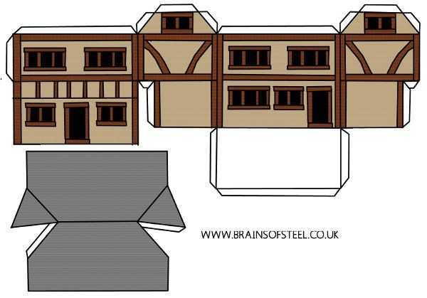 How To Make A Medieval Model House Rescources And Books