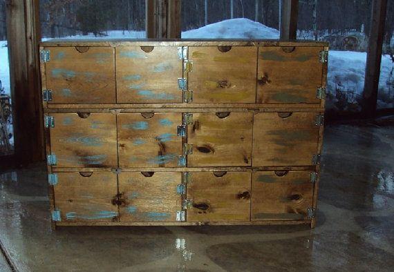 Reclaimed Wood Look Dresser Cabinet Old Barn Wood Look 48