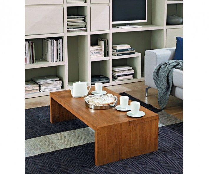 FGF Mobili Square Couchtisch Parawood