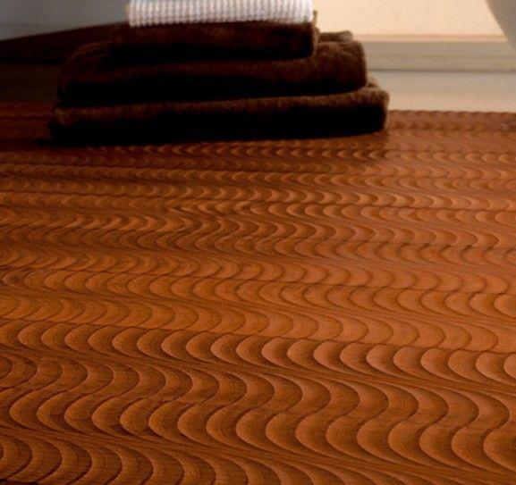 Beautiful Wavy Wood Floor Home Decore Pinterest