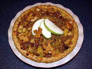 Country Apple-Sausage Pie | Premio - Repins | Pinterest