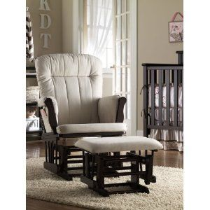 Graco Baby Nursery Glider Rocker Rocking Chair &Ottoman