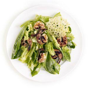 Caesar Salad With Shitake Mushrooms Recipe — Dishmaps