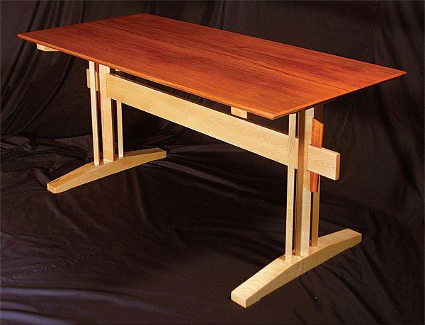 Beautiful Trestle Table | Projects | Pinterest