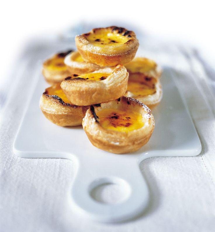 Portuguese custard tarts | Desserts and puddings | Pinterest