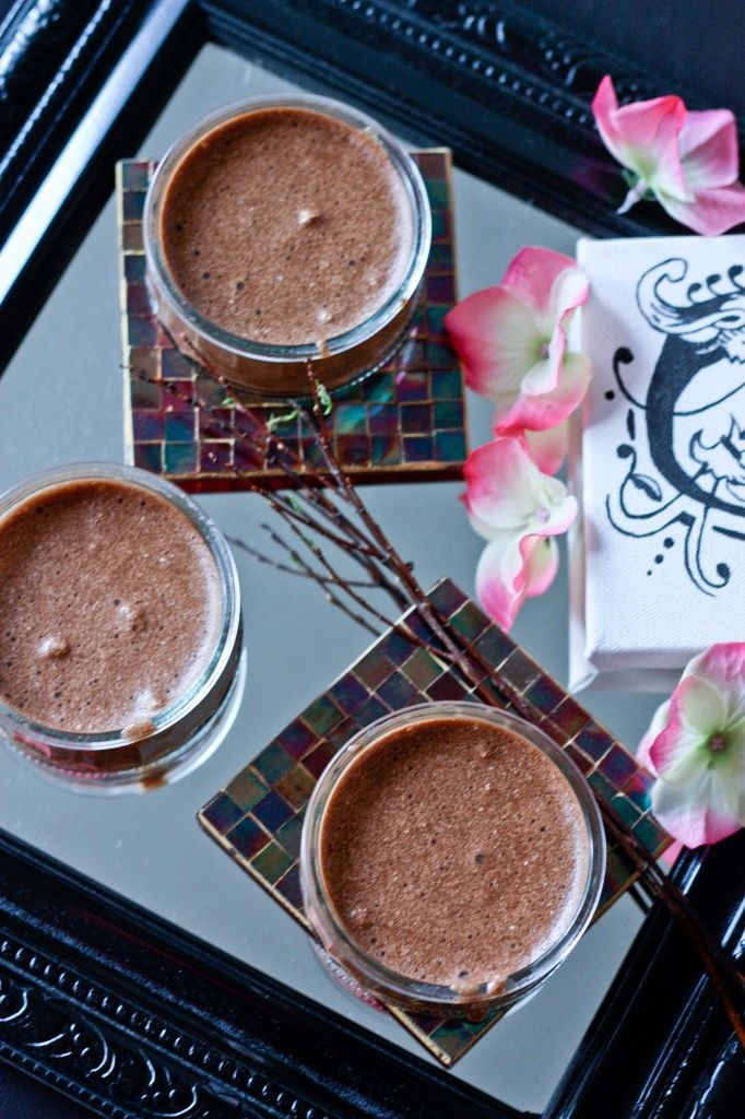 Julia Child's Gluten Free Chocolate Kahlua Mousse