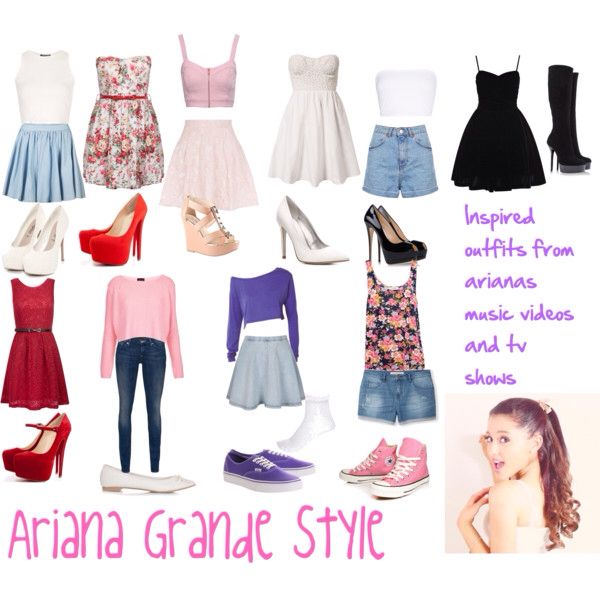 The gallery for --u0026gt; Ariana Grande Outfits Polyvore 2014