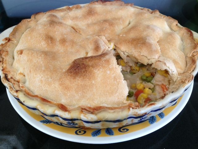 Easy as Chicken Pot Pie | Food to try | Pinterest