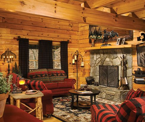 mountain home  Rustic Homes and Interiors  Pinterest