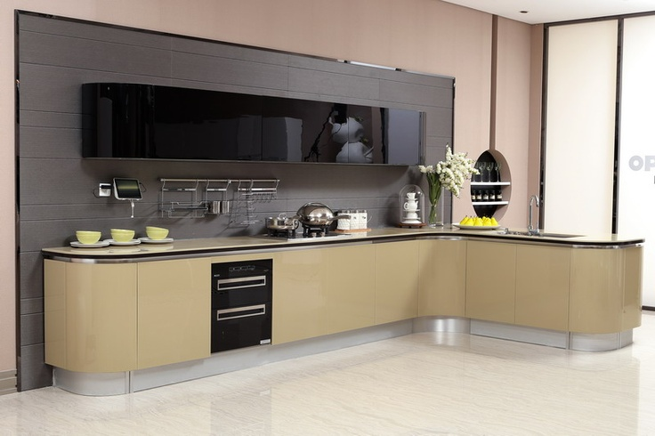 olive yellow kitchen cabinet oppein  Olive Color Kitchen Cabinet (Mo