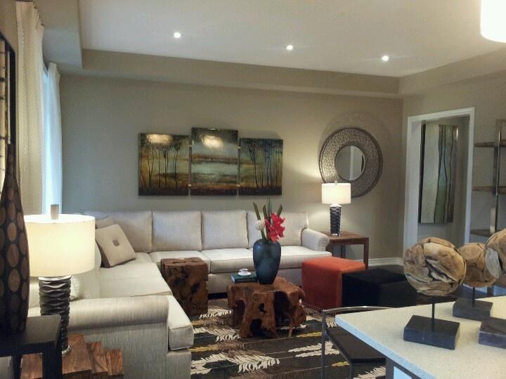 Toronto model home living room home decorating pinterest for Home decor toronto