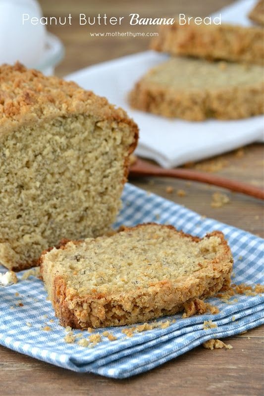 ... this is a must-try! - Peanut Butter Banana Bread from motherthyme.com