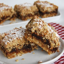 Dates, Caramel and Coffee Squares | Coffee | Pinterest