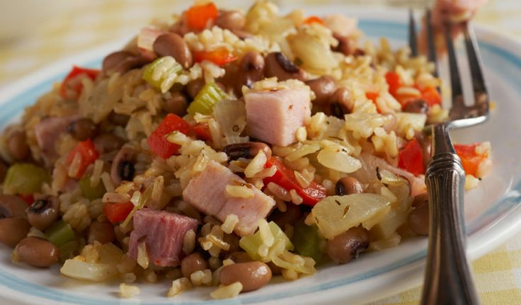 """Hoppin' John- Try our version of the classic """"New Year"""" dish ..."""