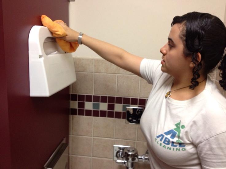 Pinterest for Commercial bathroom cleaner