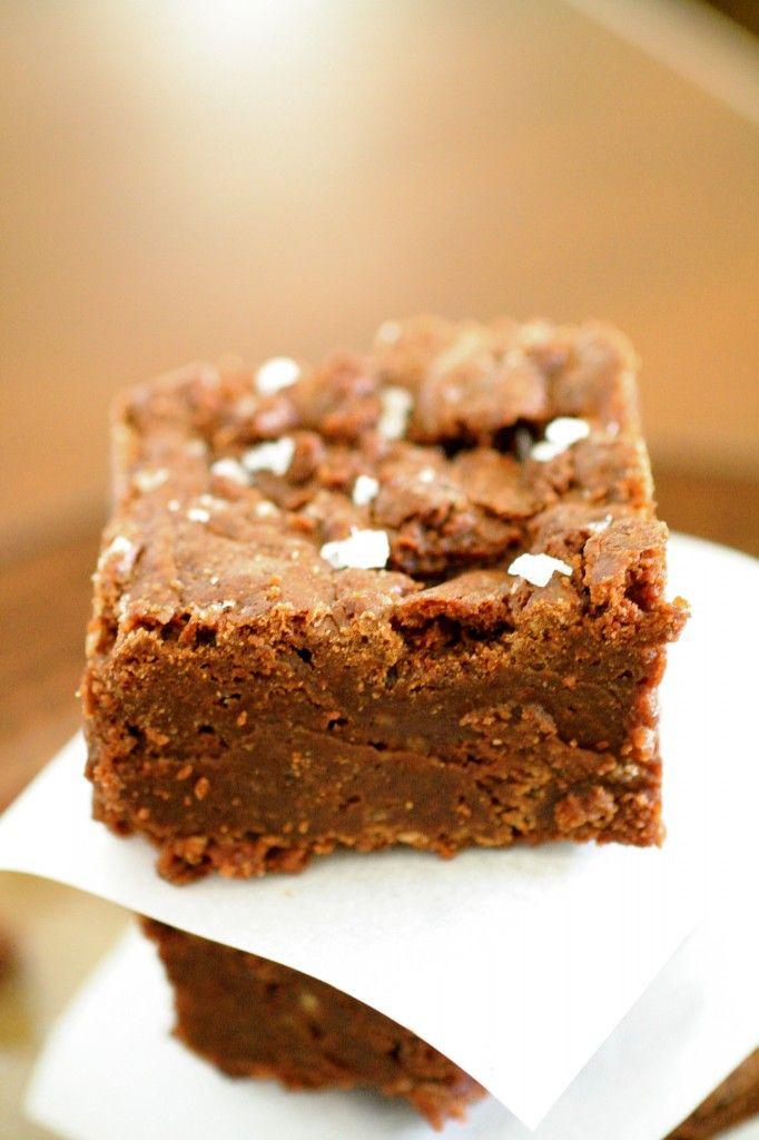 Sea Salt Fudge Brownies | Brownie | Pinterest