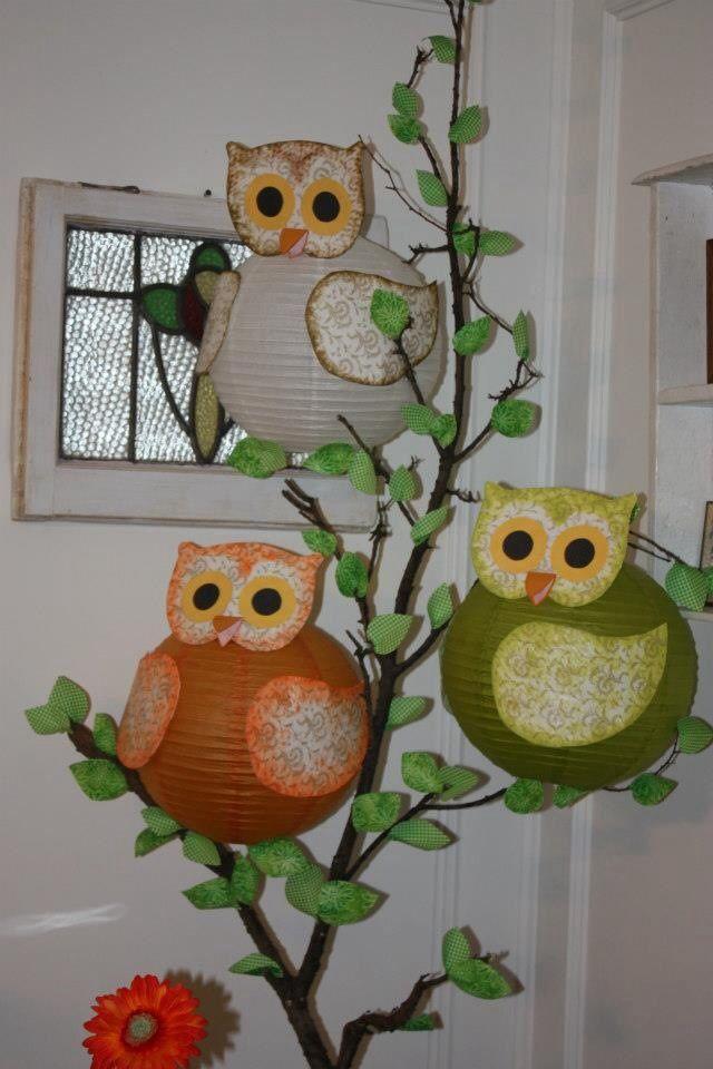 owl party decorations time to par tay pinterest