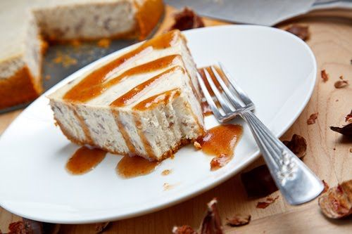 Chestnut Cheesecake from closetcooking.com