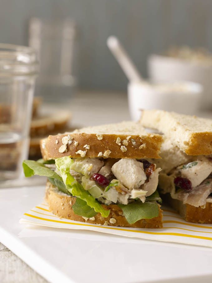Chicken Salad With Roasted Bell Peppers And Toasted Almonds Recipes ...