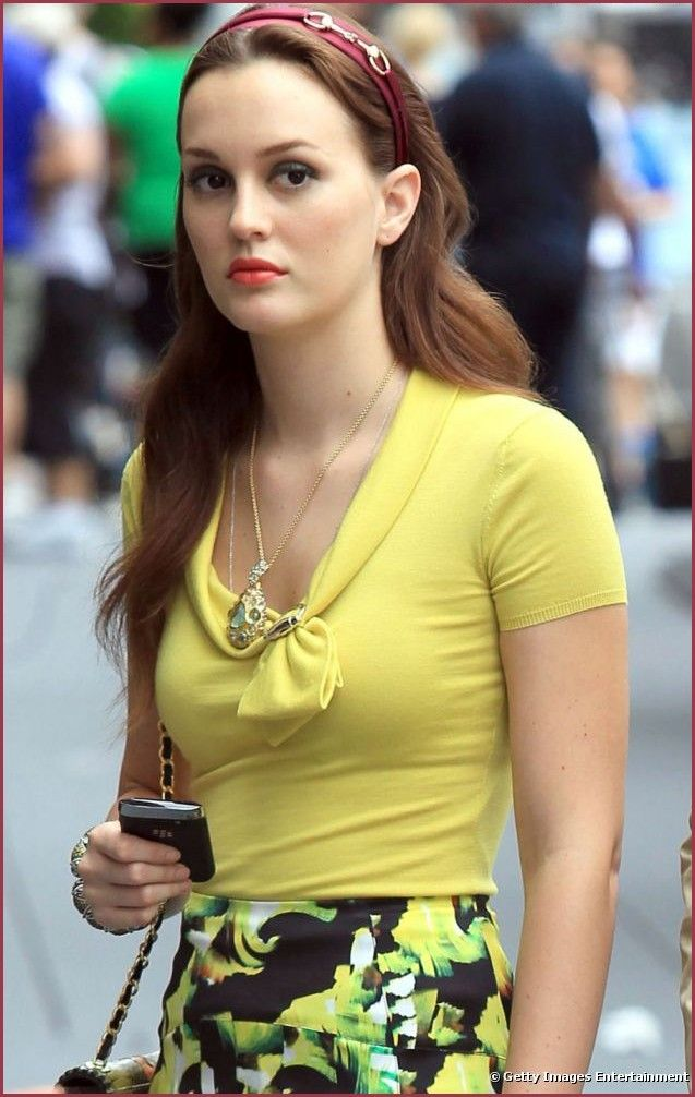 leighton meester fashion style | Leighton Meester aka Blair Waldorf ...