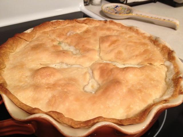 Creamy Chicken Pot Pie | Recipes | Pinterest