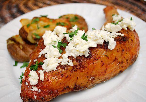 Lemon & Oregano Roast Chicken (skip poultry seasoning and don't add ...