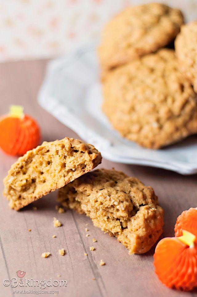 Oatmeal-Pumpkin Spiced Cookies | Baked goodies | Pinterest