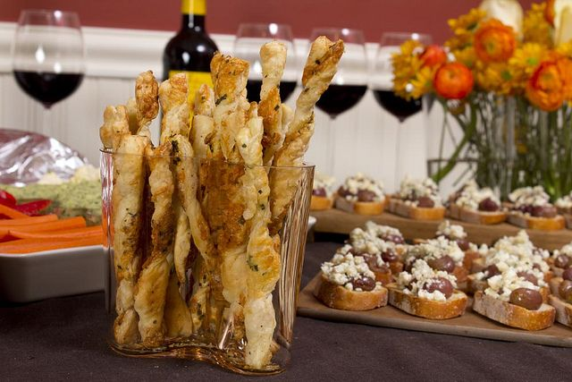 Parmesan Herb Cheese Straws | From Our Kitchen | Pinterest
