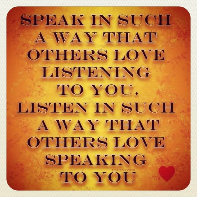 Listen, just listen | Quotes & Quibbles | Pinterest