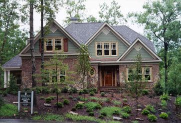 Brick stone combination charlotte home building for Brick stone combinations