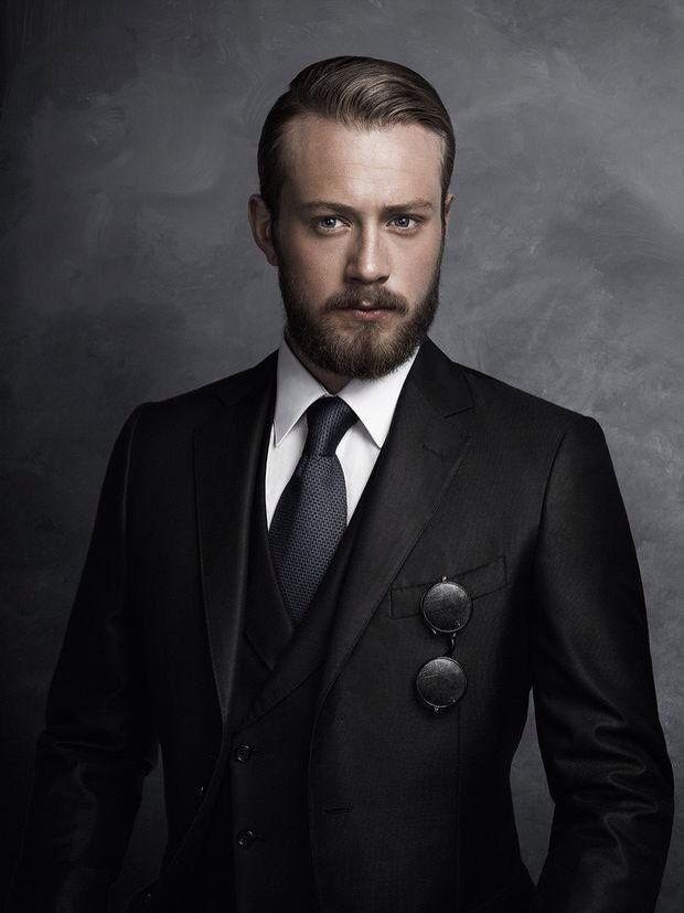 Men's high fashion portrait