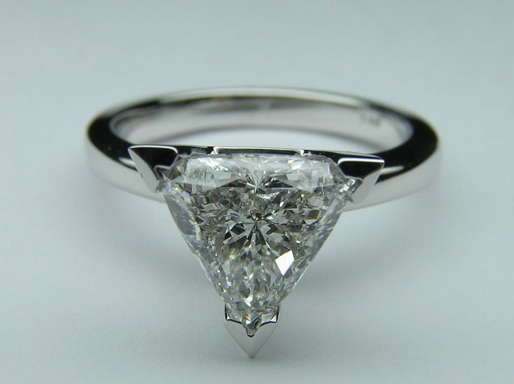Trillion Cut Engagment Ring wedding