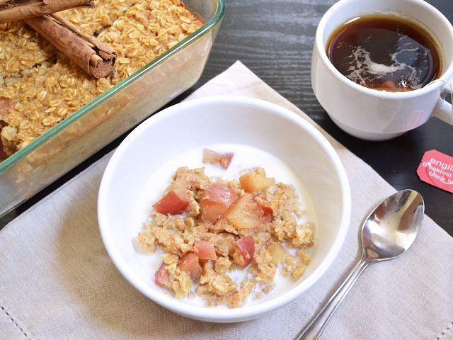apple pie baked oatmeal use steel cut oats