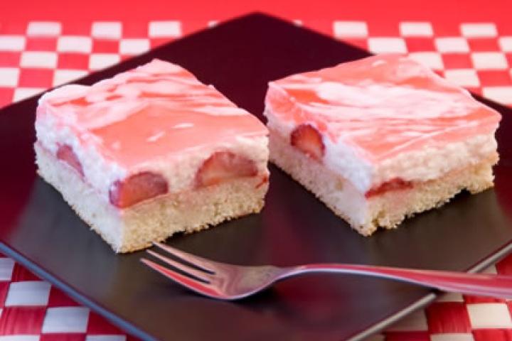 Strawberry Angel Dessert | FOOD GLORIOUS FOOD! | Pinterest