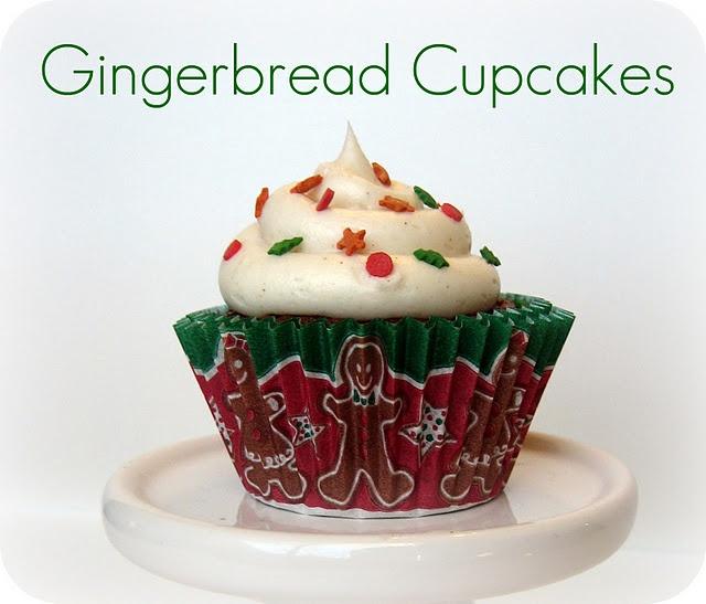 Gingerbread Cupcakes   CUPCAKERY   Pinterest