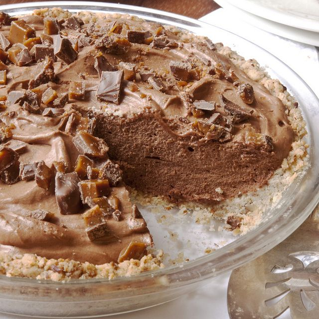 French Silk Chocolate Pie | Healthy Desserts (use Xylitol or Agave no ...