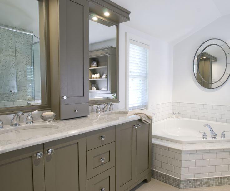 Rideaux Chambre Fille Pas Cher : Classic with a color twist  Bathrooms  Pinterest