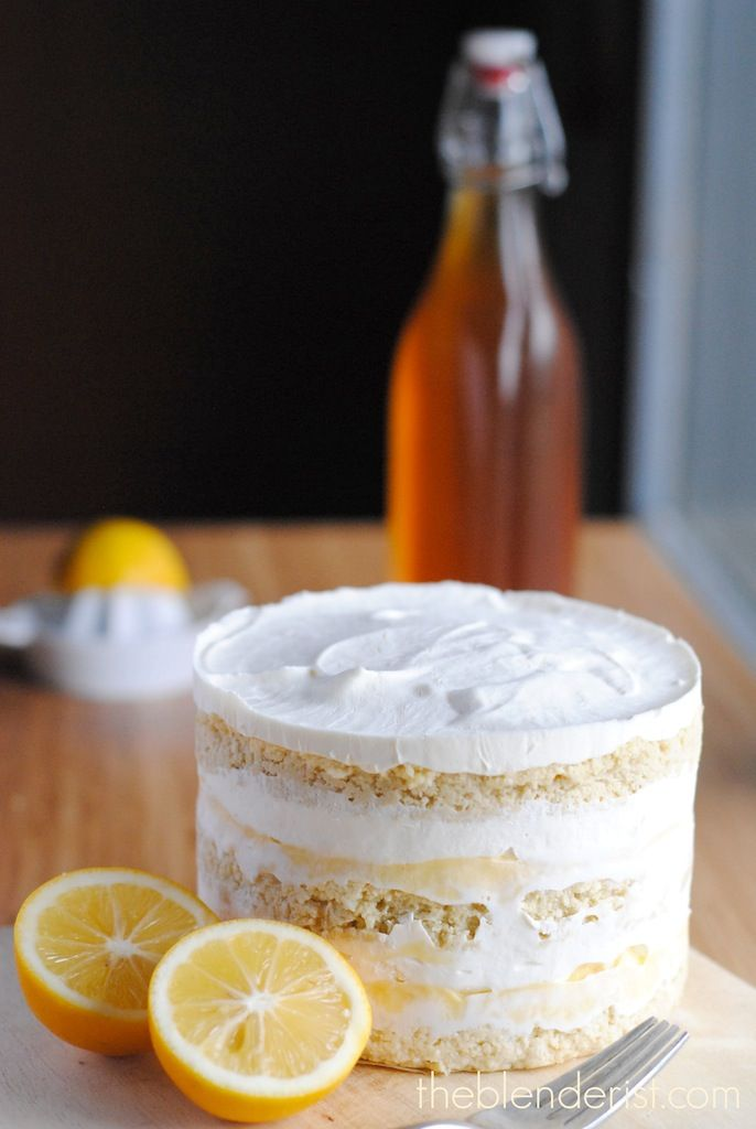 The Blenderist | Coconut Lemon Layer Cake -Gluten-Free and Sugar-Free ...