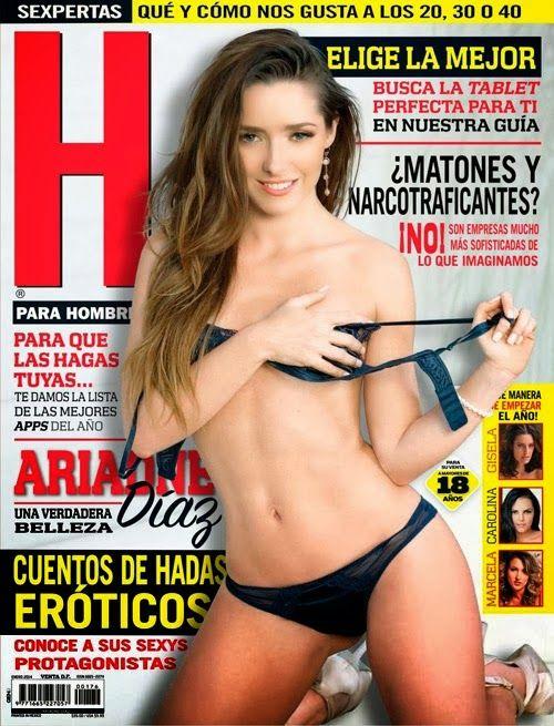 Ariadne Díaz Revista H México Enero 2014 [PDF Digital] | FamosasMex