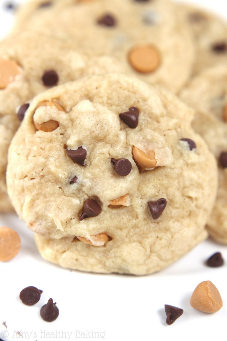 best easy recipe for lightened up Butterscotch Chocolate Chip Cookies ...