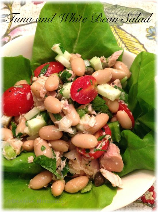 Tuna and White Bean Salad | Recipes to Try | Pinterest