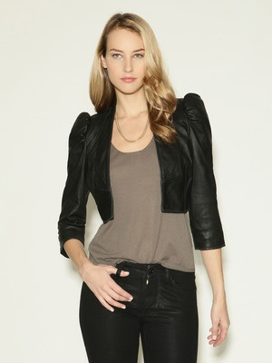 French Connection Maiden Leather Jacket | ME need THIS | Pinterest