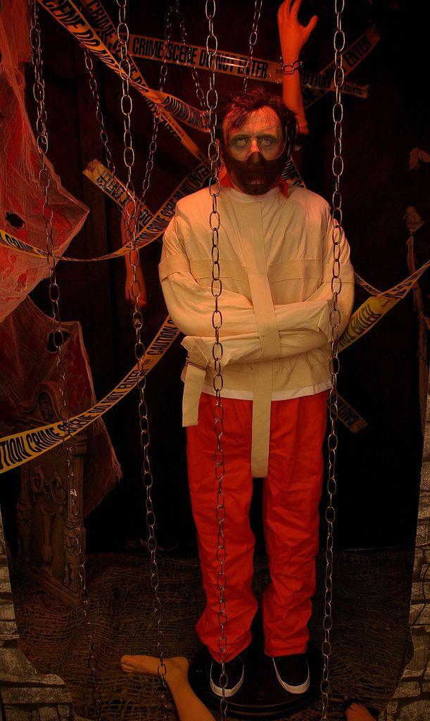 Hannibal Lechter prop  Halloween Asylum  Pinterest ~ 074650_Halloween Asylum Door Prop