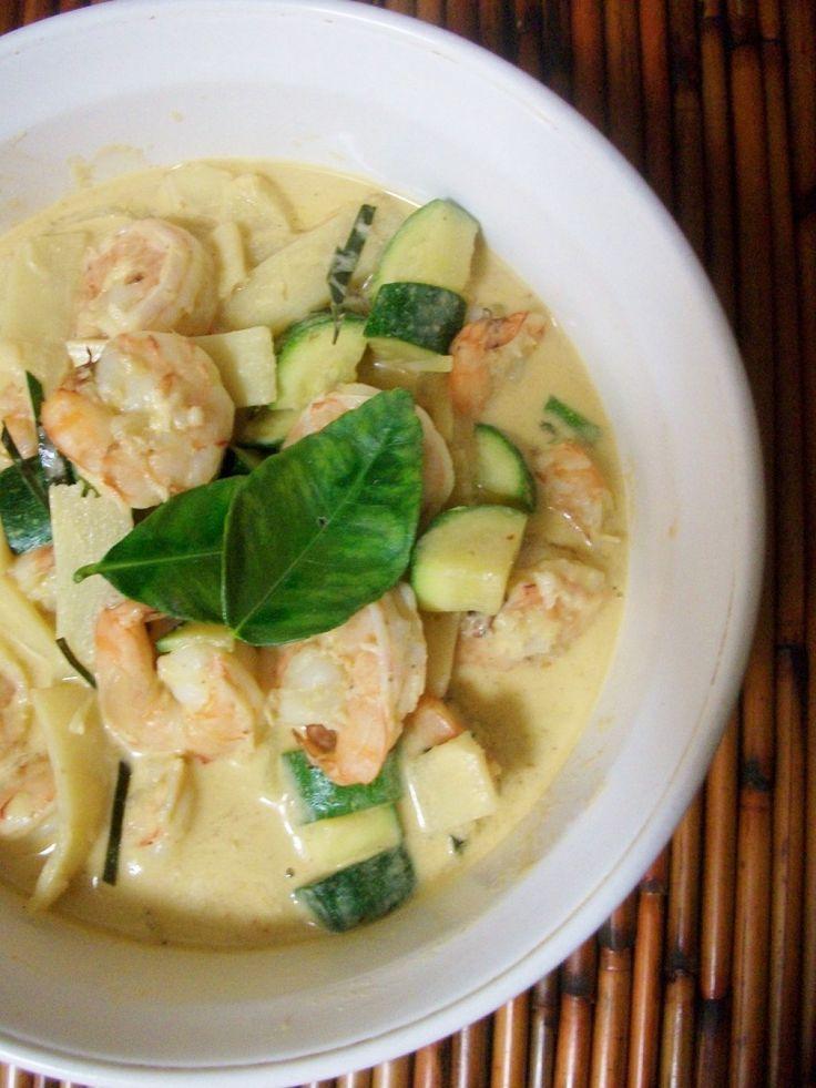 Thai Shrimp Curry Recipe — Dishmaps