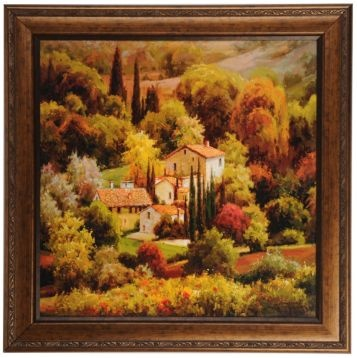 Tuscan View Framed Print Home Decor Pinterest