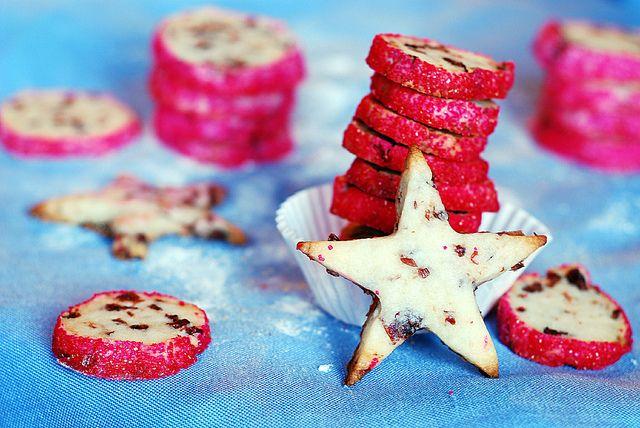 Cranberry noels, icebox cookies   Recipe