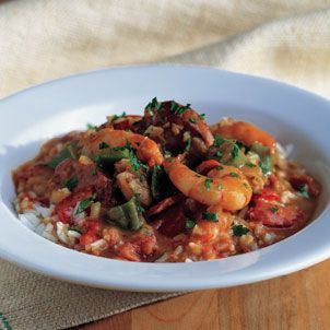 Seafood Gumbo w/andouille sausage. This is my favorite recipe and ...