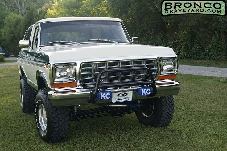 79 Ford Bronco Bronco Pinterest