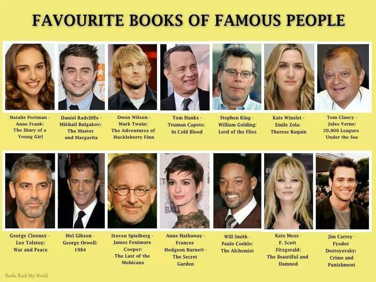 Books biographies of famous people